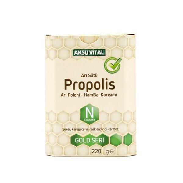 propolisli ari sutu bal polen karisimi n 8000 mg vitaller aksuvital 734 16 B 2
