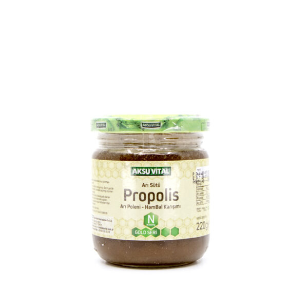 propolisli ari sutu bal polen karisimi n 8000 mg vitaller aksuvital 736 16 B 3