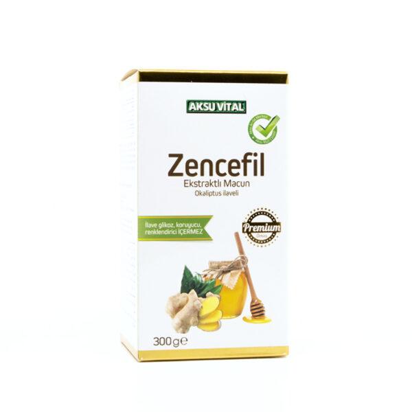 zencefil ekstraktli macun okaliptus ilaveli 300 gr macunlar aksuvital 668 32 B