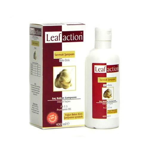 leaf action garlic
